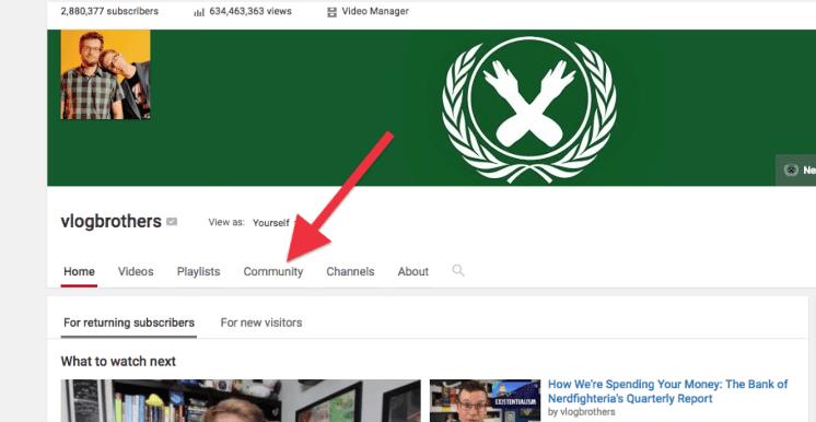 YouTube Launches 'Community' Tab Beta For Creators