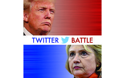 Trump vs. Clinton: Who's Winning the Twitter Battle?